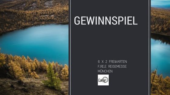 Verlosung: Freikarten zur f.re.e Reise- und Freizeitmesse München zu gewinnen!