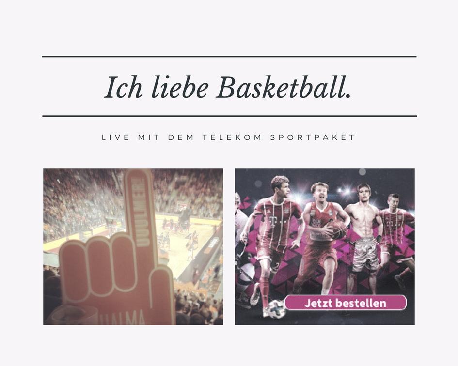Telekom Sportpaket – Mama steht auf Basketball!