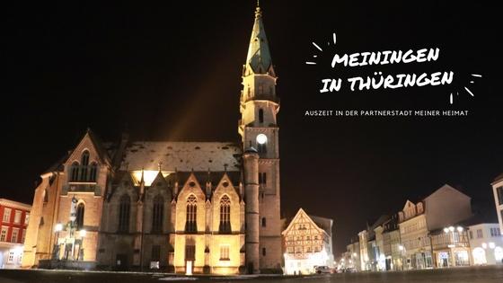 Auszeit in Meiningen in Thüringen: Warum es sich lohnen kann Partnerstädte zu besuchen