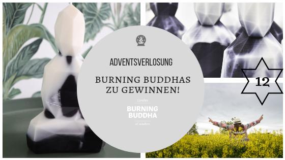 Gewinnspiel – Adventskalender 12. Dezember 2018: Komm, lass mal Buddha verbrennen…