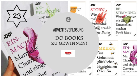 Adventskalender 23. Dezember 2018: DO Books – viel Lesestoff für kalte Wintertage zu gewinnen!