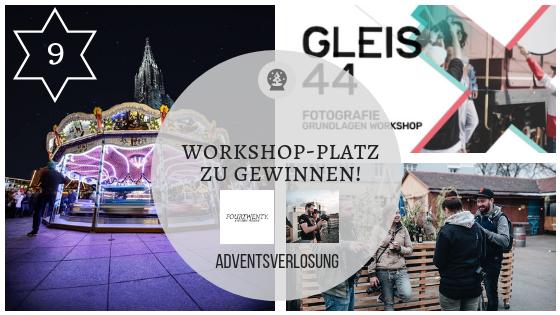 9. Dezember 2018: Wer möchte Fotos machen wie ein Profi? Workshop-Platz zu gewinnen!