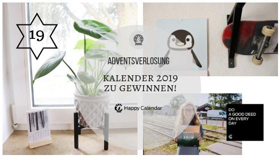Adventskalender 19. Dezember 2018: Die Happy Calendar halten Einzug! (mit Gewinnspiel)