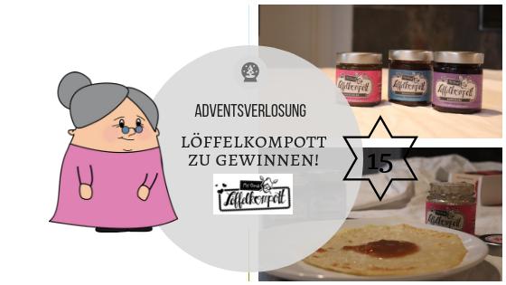 """Adventskalender 15. Dezember: """"Löffelkompott"""" zu gewinnen – inkl. Rezept für super easy vegane Pfannkuchen"""