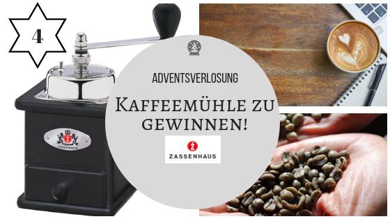 Adventskalender 4. Dezember 2018: Ich entführe Euch in die Welt des Kaffees mit ZASSENHAUS und CATUCHO!