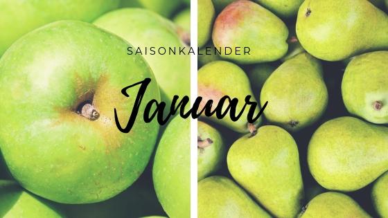 Saisonkalender Januar: Äpfel und Birnen, das wars?