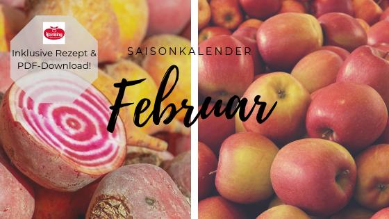 Saisonkalender Februar: Der perfekte Monat für Gemüsechips!