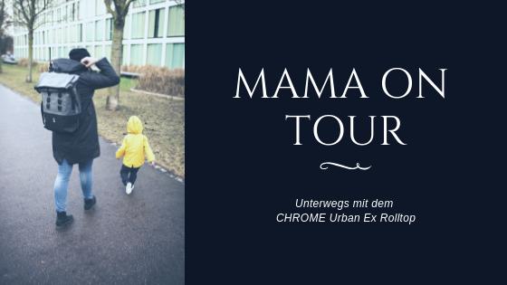 CHROME Backpack – Muttis, habt Ihr auch immer das halbe Kinderzimmer dabei?