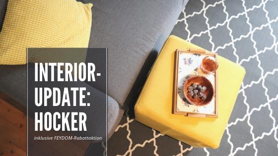 Interior-Update mit FEYDOM: Warum wir neuerdings Zuhause auf Hockern sitzen – mit Rabattcode