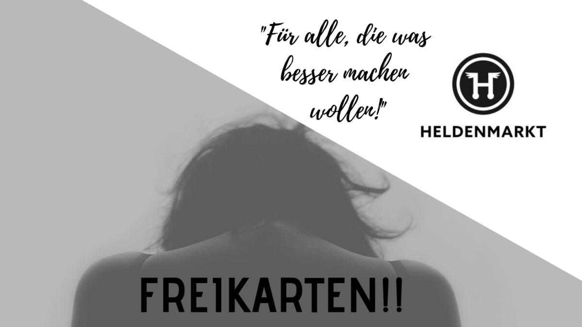 Gewinnspiel: 3×2 Tickets für Heldenmarkt München 2019 zu gewinnen!