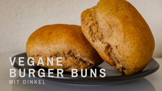 Easy peasy Rezept für vegane Dinkel-Burger-Brötchen
