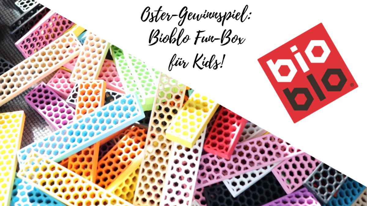 Oster-Gewinnspiel: Viel Spaß mit den knallbunten & nachhaltigen Bausteinen von Bioblo!