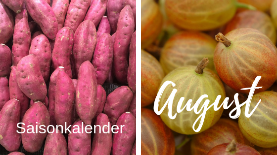 Saisonkalender August – PDF Download for FREE