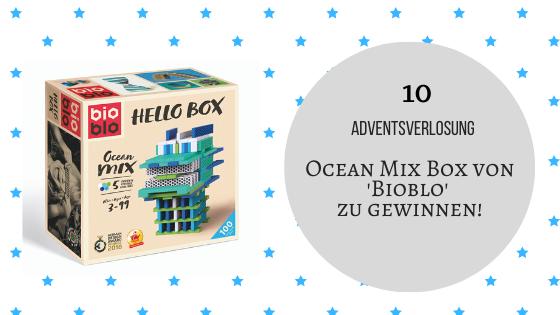 Adventskalender 10. Dezember 2019: Die Ocean Mix Box von 'Bioblo'