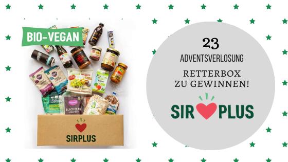 Adventskalender 23. Dezember 2019: Sirplus – Heute schon für Morgen handeln