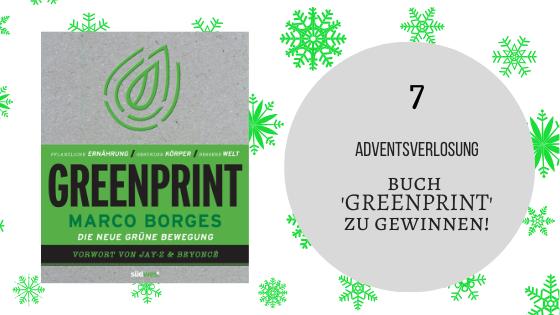 Adventskalender 7. Dezember 2019: Buch 'GREENPRINT' zu gewinnen!