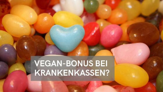 Veganer-Bonus bei Krankenkassen: Gibt es das?