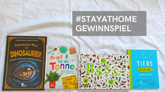 Verlosung: #stayathome und gewinn tolle Bücher zum Zeitvertreib für die Kids!